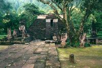 1989, CANDI SUKUH-TEMPELANLAGE, ZENTRAL-JAVA, INDONESIEN