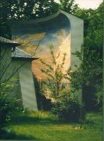 1990, DAS ENDE DER WELT (DER AUFGEKLAERTE BLICK), SCHLOSSPARK SCHWETZINGEN